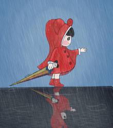 Heavy rain by alhaddad1
