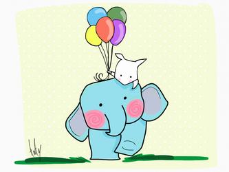 Elephant by alhaddad1