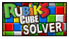 Rubiks Cube solver stamp by smgbas