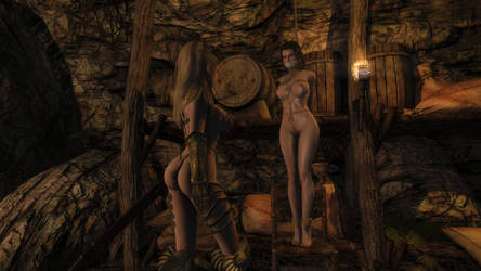 Skyrim SE - Lydia in Trouble? by m7seven