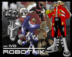 Dr. Ivo Robotnik by Gaminefans