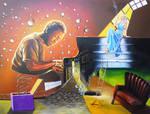 The Pianist by Ishyndar