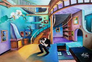 Trapped Inside a Woman's Mind by Ishyndar