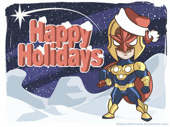 NovaPrime 2013 Christmas card by Chizel-Man