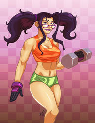 Bluevengeance's Fighter Tootie by Chizel-Man
