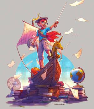 The Little Explorer by Grafik