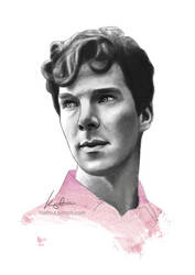 Benedict Cumberbatch 2 by konspiracie