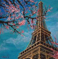 spring in paris by isismas