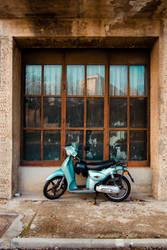 Motorbike by isismas