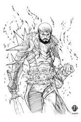 Dragon Age2 Inks by devgear
