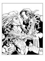 Witchblade-Punisher by devgear
