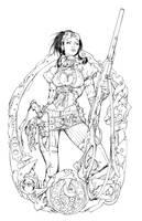 Lady Mechanika Cover 0 Inks by devgear