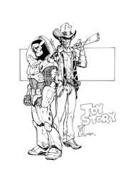Toy Story Inks by devgear