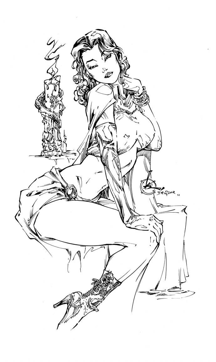 Dragon Lady Inks 2.0 by devgear