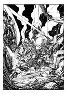 Alien versus Predator Inks by devgear