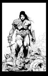 Conan Inks by devgear