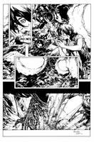 Aliens Page Inked by devgear