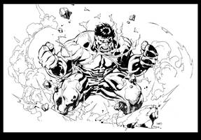 Hulk Inks by devgear