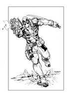 Deadpool Inks by devgear