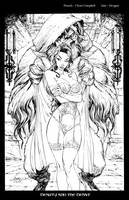 Beauty and the Beast Inks by devgear