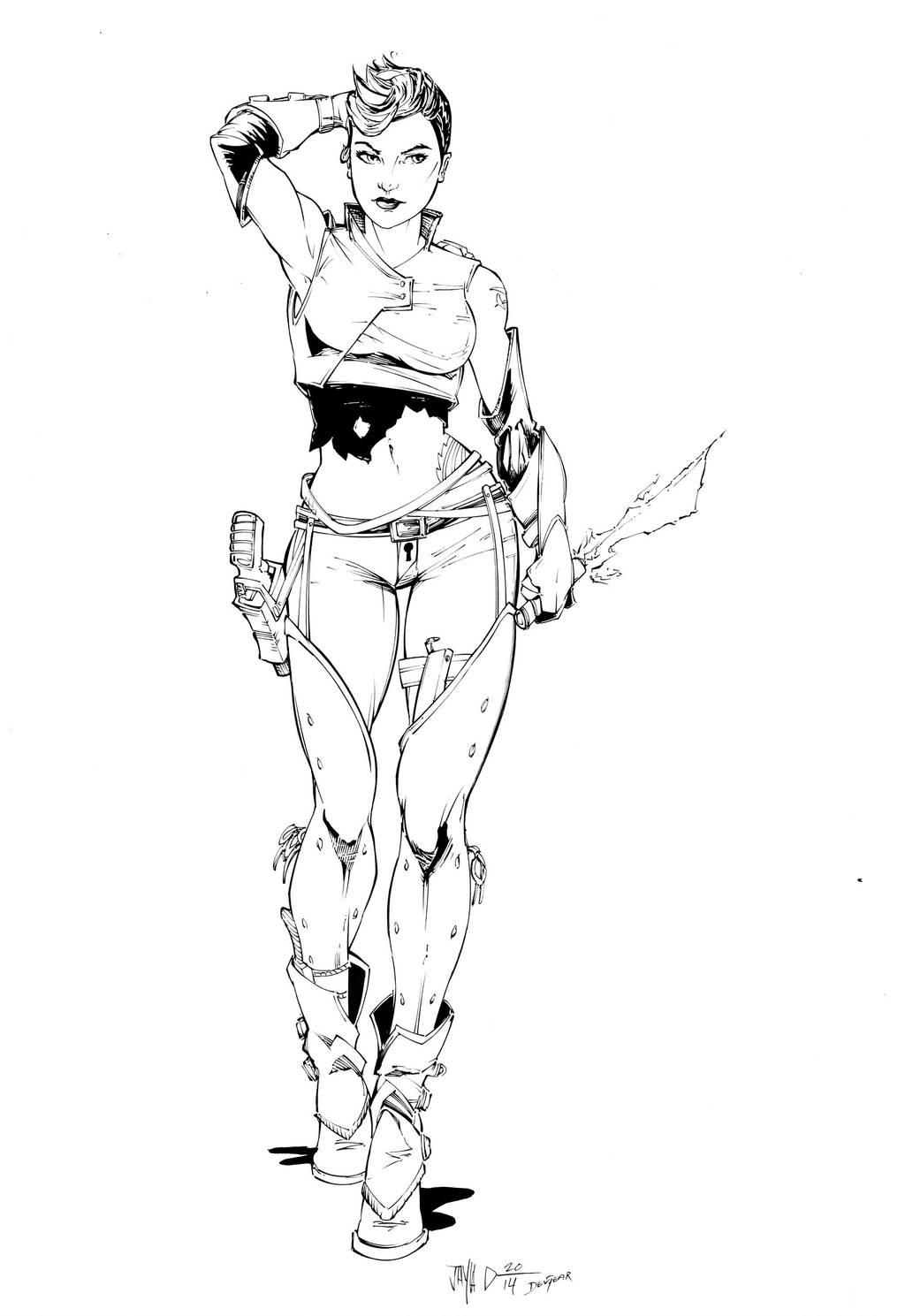 Bounty Hunter by devgear