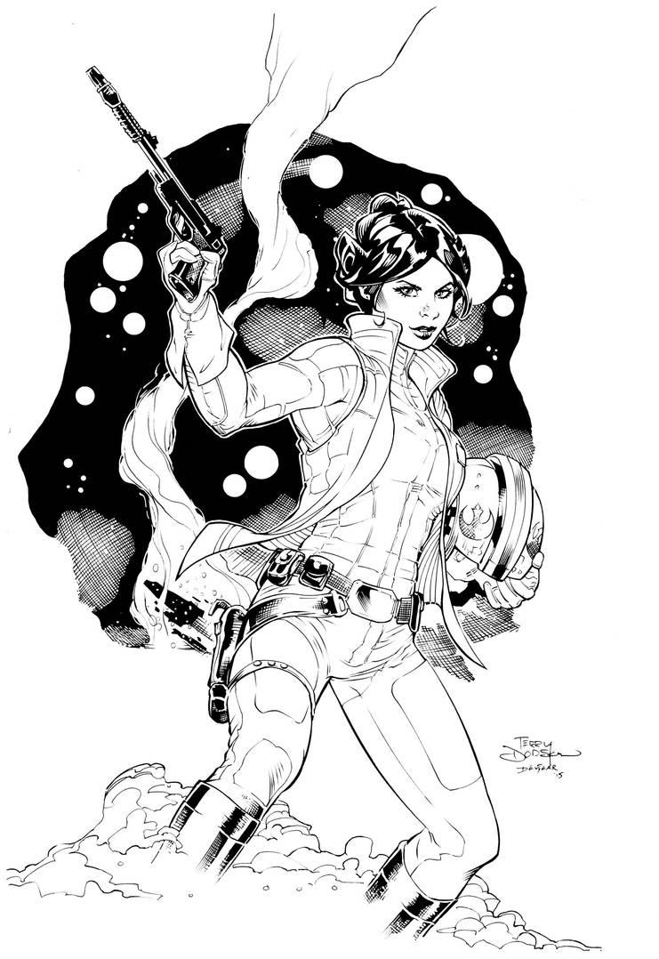 Princess Leia by devgear