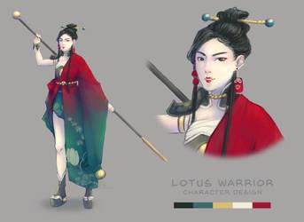 Lotus Warrior by XxYorunoHimexX