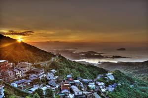 Jioufen Sunset II by pacmangeek