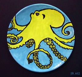 Octopus Plate by Jb-612
