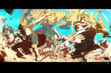 pixiv fantasia illustlation7 by Ryo-ta
