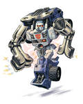 Puffer commission by a-loft-on-cybertron