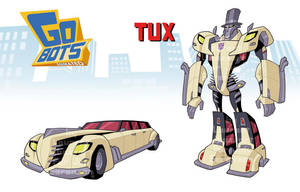 Animated Tux by a-loft-on-cybertron