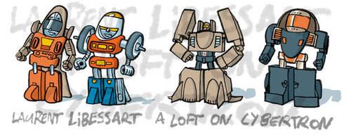 cute gobots? by a-loft-on-cybertron