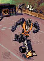 race robot by a-loft-on-cybertron