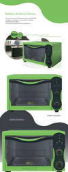 Electric Oven Design by Rowanrho