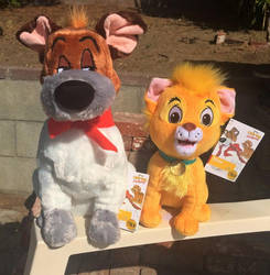 Disneystore Oliver And Company Plushies by BodieYote