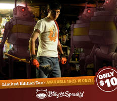 Mad Scientist Tee - Ricky by mike-loscalzo