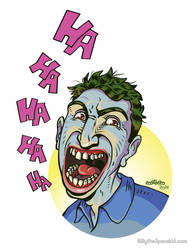 The Clown Prince of Crime - The Joker by mike-loscalzo
