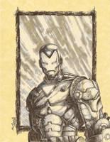 Iron man Sketch by joshmedorsart
