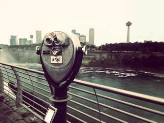 Onlooking the Falls by 51mrsnickjonas94
