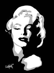 Marilyn Monroe pop (digital) by 51mrsnickjonas94