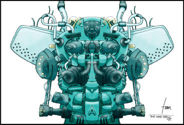 OrugaRobot by francisca-osornio