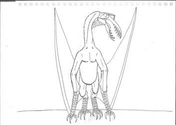 Aguiladactylus by Saberrex