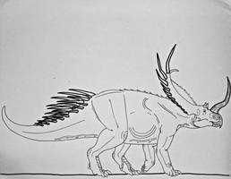 DotP Extinction Files: Lophoceras by Saberrex