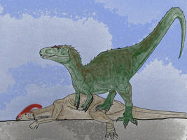 Daspletosaurus torosus- Color attempt by Saberrex