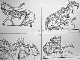 Vastatotyrannus rex: killing method by Saberrex