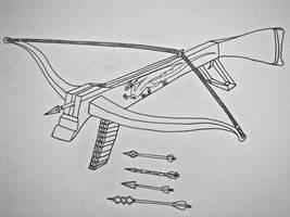 Dwarven Crossbow by Saberrex