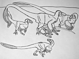 Dromaeosaurus albertensis by Saberrex