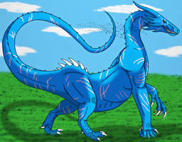 Knuckle-walker Dragon- Color rendition by Saberrex