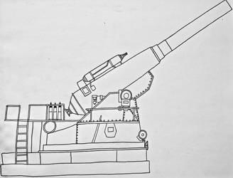 Dwergzal 267 Anti-Dragon Howitzer by Saberrex